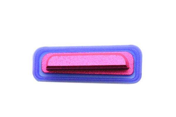 【ネコポス送料無料】 Xperia TX (LT29i SO-04D) サイドキー ピンク 3点セット  [3]