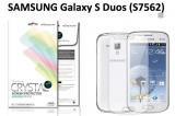 【ネコポス送料無料】 SAMSUNG Galaxy S Duos (S7562) 液晶保護フィルムセット クリスタルクリア