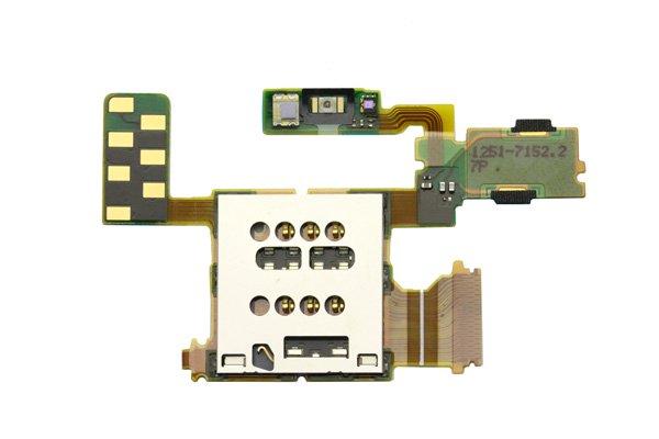 【ネコポス送料無料】 Xperia ion (LT28i) SIMスロットASSY  [1]