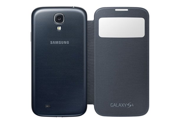 【ネコポス送料無料】SAMSUNG Galaxy S4 (GT-I9500)  S-View Cover 全7色  [2]