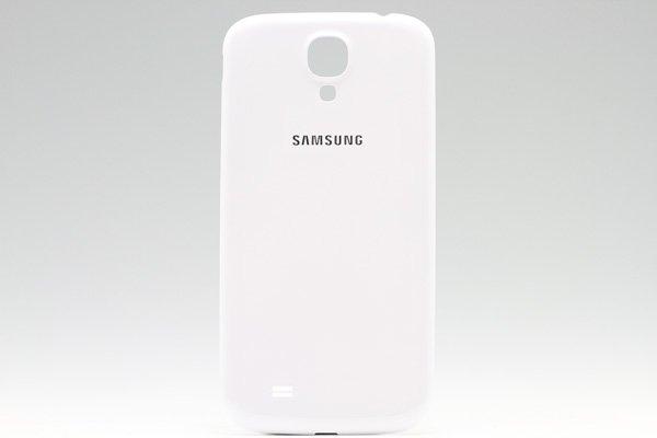 【ネコポス送料無料】Galaxy S4 (GT-I9500) バッテリーカバー ホワイト  [1]