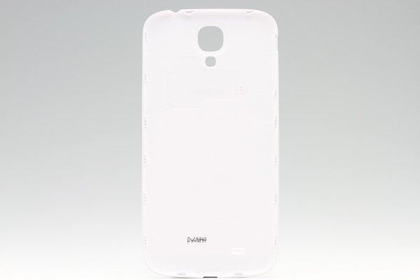【ネコポス送料無料】Galaxy S4 (GT-I9500) バッテリーカバー ホワイト  [2]