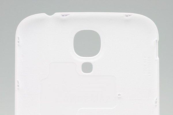 【ネコポス送料無料】Galaxy S4 (GT-I9500) バッテリーカバー ホワイト  [4]