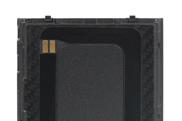 【ネコポス送料無料】Blackberry Q10 バッテリーカバー 全2色  [3]