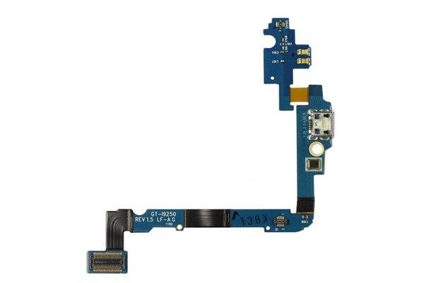 【ネコポス送料無料】SAMSUNG Galaxy Nexus (GT-I9250) マイクロUSBコネクターASSY  [1]