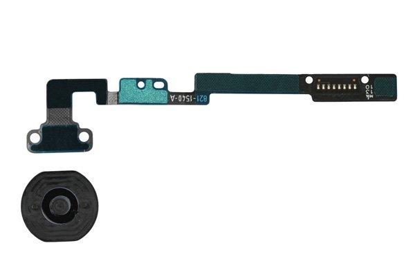 【ネコポス送料無料】Apple iPad mini 1,2共通 ホームボタンセット 全2色  [2]