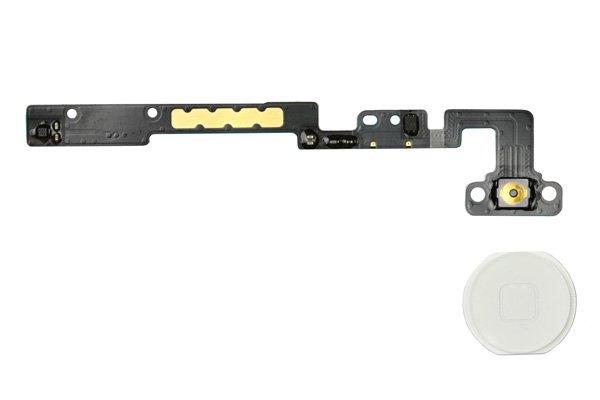 【ネコポス送料無料】Apple iPad mini 1,2共通 ホームボタンセット 全2色  [3]