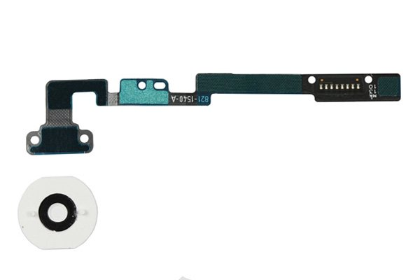 【ネコポス送料無料】Apple iPad mini 1,2共通 ホームボタンセット 全2色  [4]