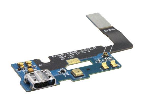 【ネコポス送料無料】SAMSUNG Galaxy Note2 (SHV-E250L) マイクロUSBコネクターケーブル  [3]