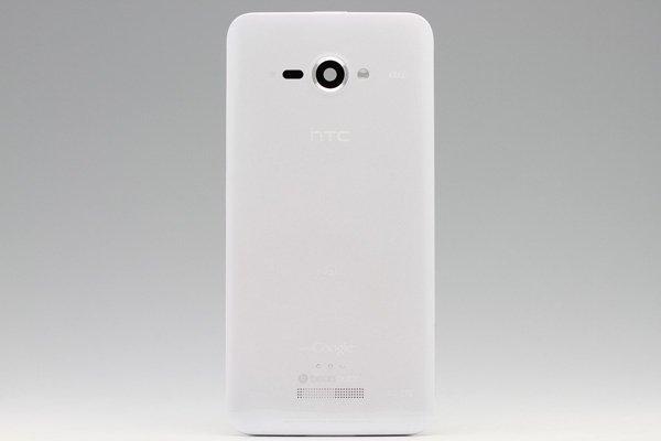 【ネコポス送料無料】HTC J butterfly (HTL21) バックカバー ホワイト  [1]