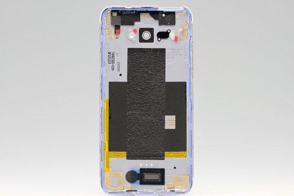 【ネコポス送料無料】HTC J butterfly (HTL21) バックカバー ホワイト  [2]
