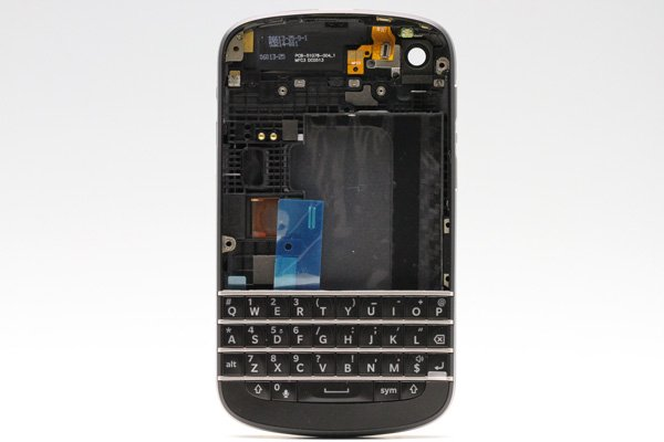 Blackberry Q10 外装セット ブラック  [1]