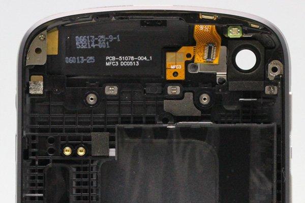 Blackberry Q10 外装セット ブラック  [4]