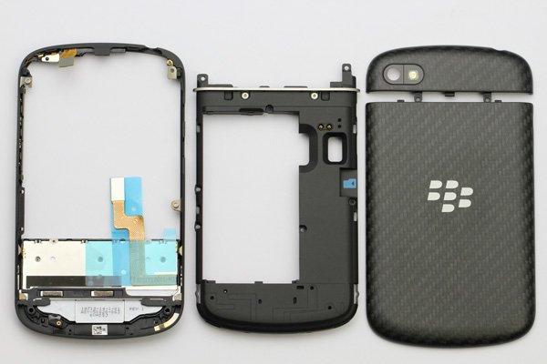Blackberry Q10 外装セット ブラック  [10]