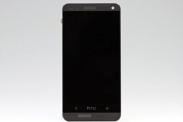 HTC One (M7 801) フロントパネルASSY ブラック  [1]