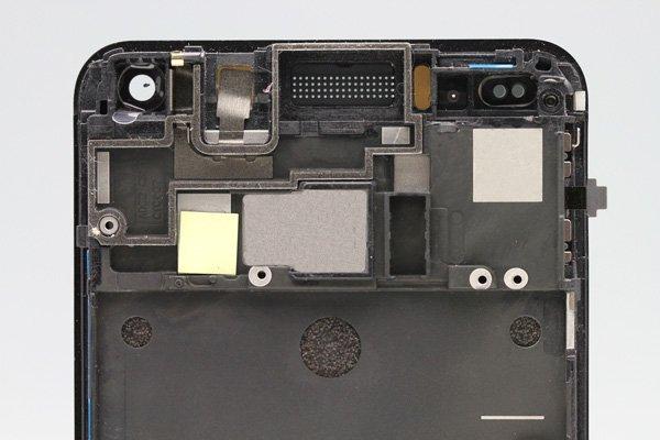 HTC One (M7 801) フロントパネルASSY ブラック  [3]