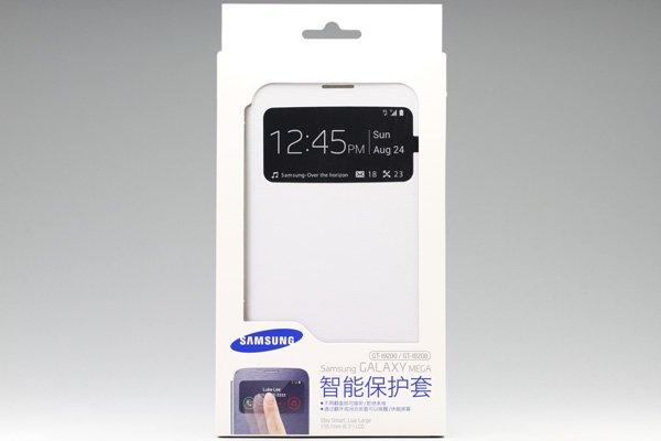 【ネコポス送料無料】SAMSUNG Galaxy MEGA6.3 (GT-I9200 9205)  S-View Cover 全2色  [2]