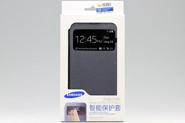 【ネコポス送料無料】SAMSUNG Galaxy MEGA6.3 (GT-I9200 9205)  S-View Cover 全2色  [3]