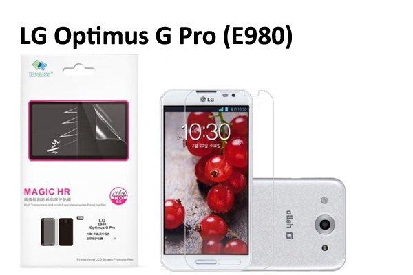 【ネコポス送料無料】 傷防止液晶保護フィルム LG Optimus G Pro(E980)クリスタルクリアタイプ  [1]