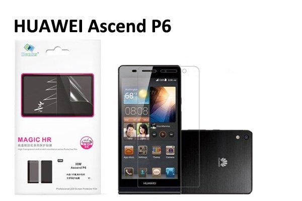 【ネコポス送料無料】 傷防止液晶保護フィルム Huawei Ascend P6クリスタルクリアタイプ  [1]
