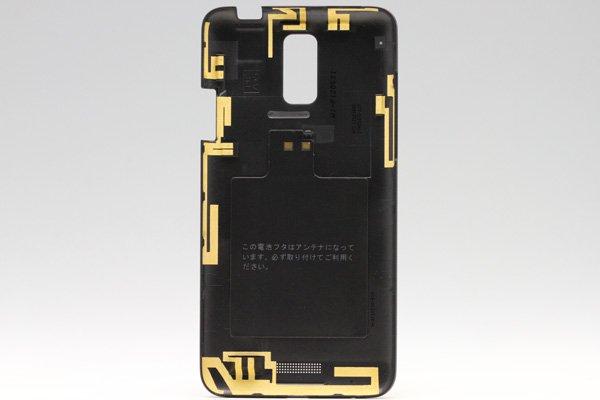 【ネコポス送料無料】HTC J (ISW13HT) バックカバー 全3色  [4]