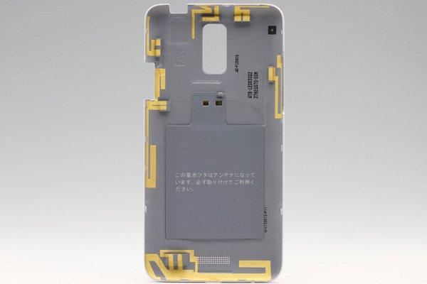 【ネコポス送料無料】HTC J (ISW13HT) バックカバー 全3色  [6]