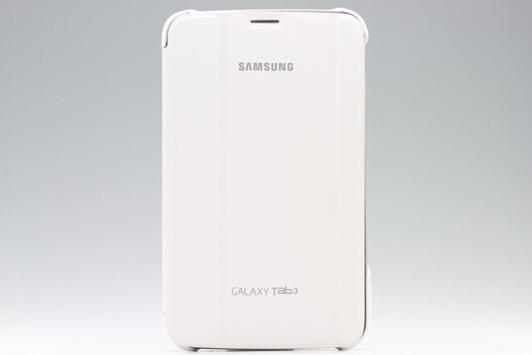 GALAXY Tab3 7.0 (P3200) Samsung Book Cover ブックカバーケース ホワイト  [1]