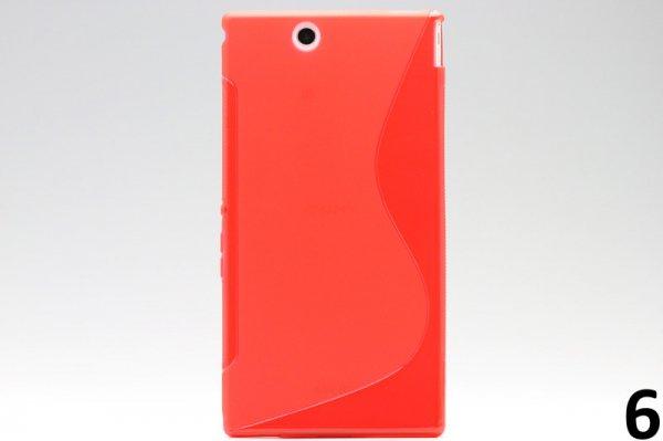【ネコポス送料無料】Xperia Z Ultra TPUケース 液晶保護フィルム付き 全8色  [11]
