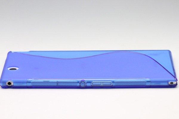 【ネコポス送料無料】Xperia Z Ultra TPUケース 液晶保護フィルム付き 全8色  [17]