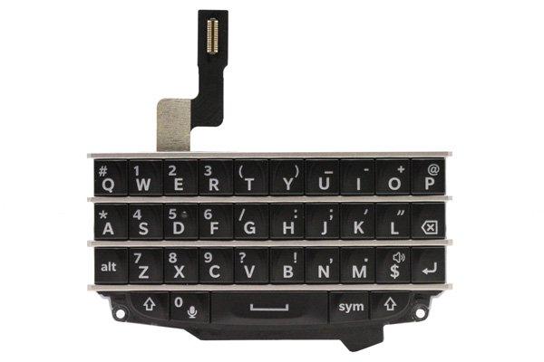 【ネコポス送料無料】Blackberry Q10 キーボードASSY ブラック  [1]