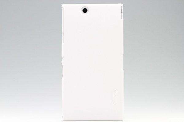 【ネコポス送料無料】Xperia Z Ultra 専用ハードカバー 液晶保護フィルム付き 全4色  [7]