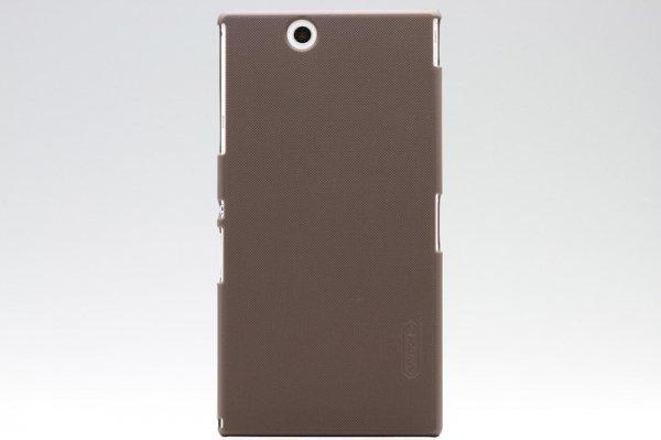 【ネコポス送料無料】Xperia Z Ultra 専用ハードカバー 液晶保護フィルム付き 全4色  [9]
