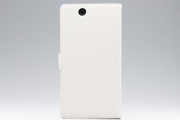 【ネコポス送料無料】Xperia Z Ultra ブックスタンドタイプ PUレザーケース 全5色  [8]