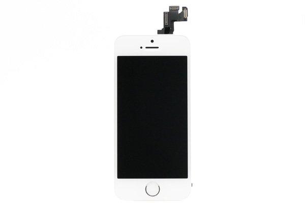 Apple iPhone5s フロントパネルASSY ホワイト  [1]