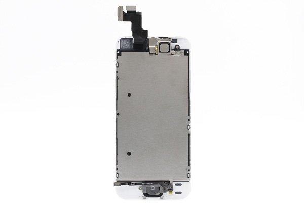 Apple iPhone5s フロントパネルASSY ホワイト  [2]