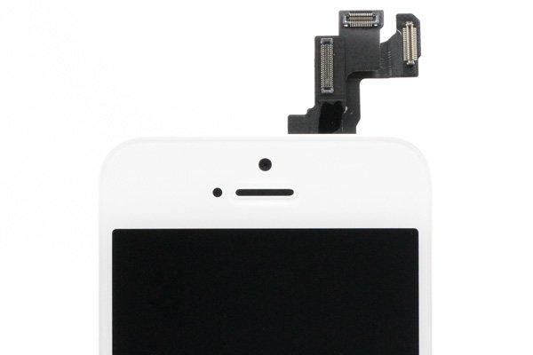 Apple iPhone5s フロントパネルASSY ホワイト  [3]