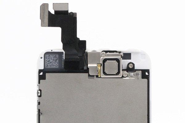 Apple iPhone5s フロントパネルASSY ホワイト  [4]