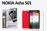 【ネコポス送料無料】指の滑りがスルッスルNOKIA Asha 501 液晶保護フィルム アンチグレアタイプ