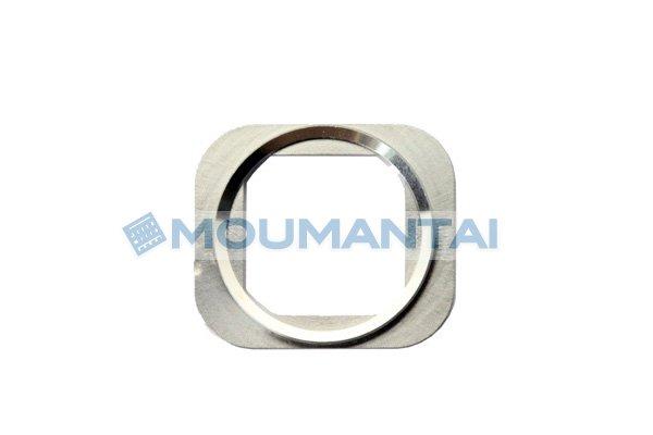 【ネコポス送料無料】iPhone5s ホームボタンリング シルバー  [1]