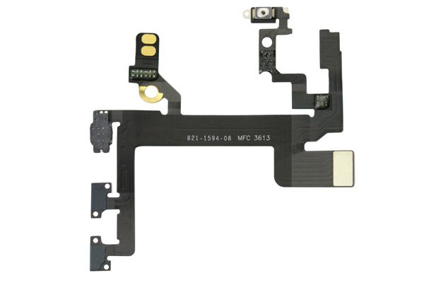 【ネコポス送料無料】iPhone5s パワー&ボリューム&マナーフレックスケーブル  [2]