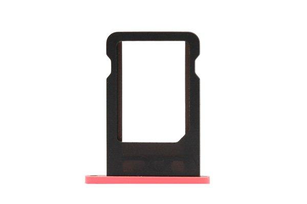 【ネコポス送料無料】Apple iPhone5c SIMカードトレイ ピンク  [1]