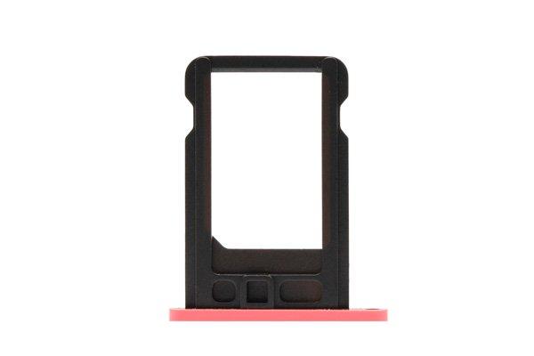 【ネコポス送料無料】Apple iPhone5c SIMカードトレイ ピンク  [2]
