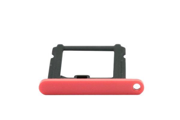 【ネコポス送料無料】Apple iPhone5c SIMカードトレイ ピンク  [3]