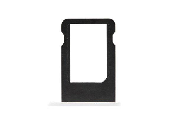 【ネコポス送料無料】Apple iPhone5c SIMカードトレイ ホワイト  [1]