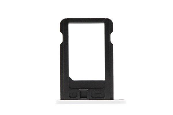 【ネコポス送料無料】Apple iPhone5c SIMカードトレイ ホワイト  [2]