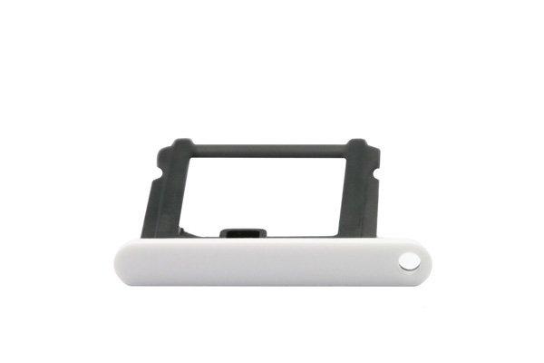 【ネコポス送料無料】Apple iPhone5c SIMカードトレイ ホワイト  [3]