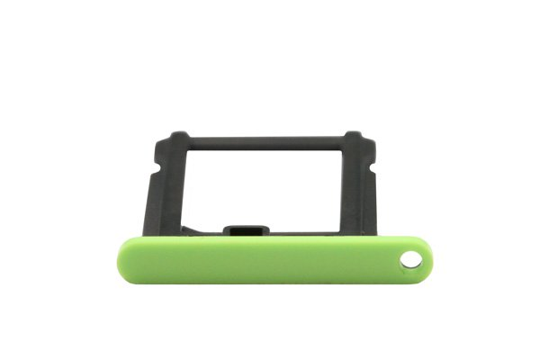 【ネコポス送料無料】Apple iPhone5c SIMカードトレイ グリーン  [3]