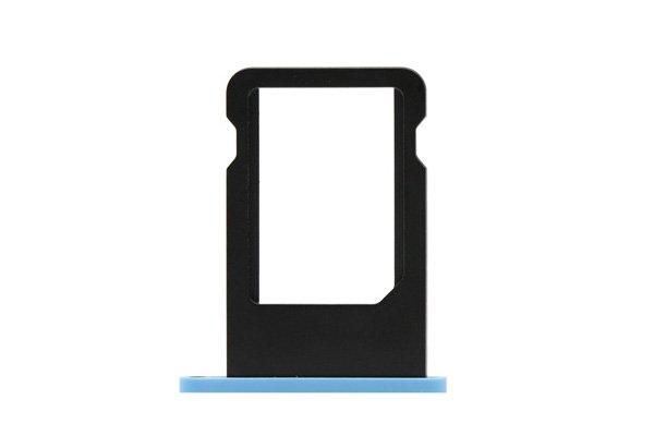 【ネコポス送料無料】Apple iPhone5c SIMカードトレイ ブルー  [1]
