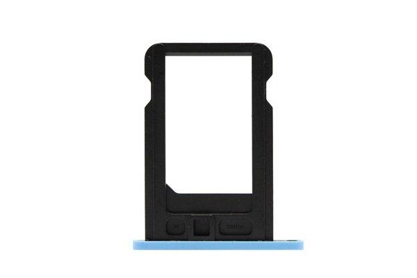 【ネコポス送料無料】Apple iPhone5c SIMカードトレイ ブルー  [2]