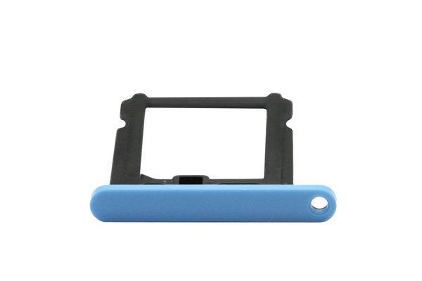 【ネコポス送料無料】Apple iPhone5c SIMカードトレイ ブルー  [3]